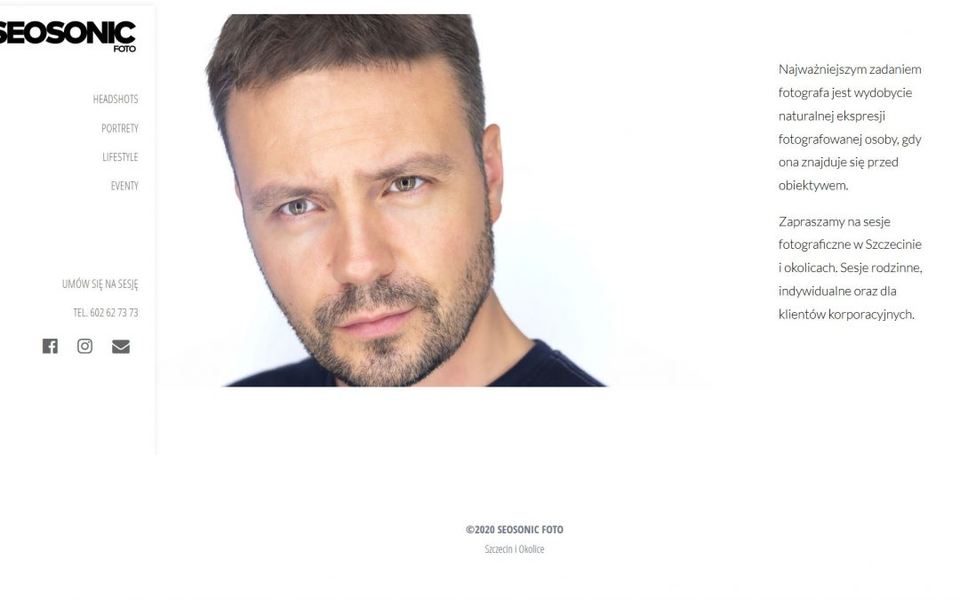 Peter Hurley Style Website Template For Headshot Photographers